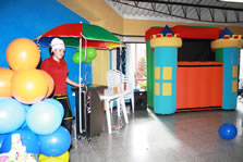 Teatrino inflable fiestas infantiles