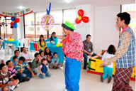 Payasos recreacion infantil
