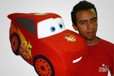Medellin Personaje de Cars Rayo Mcqueen